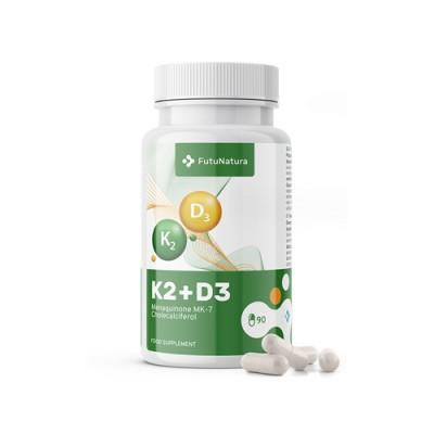 Vitamin K2 D3 - für Knochen