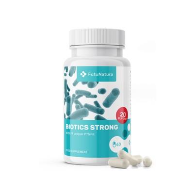 Probiotika und Prebiotika Biotics Strong