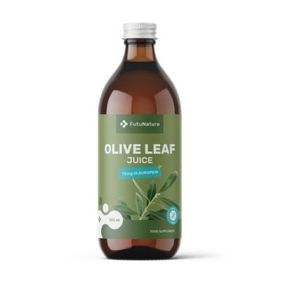 Saft aus Olivenblättern