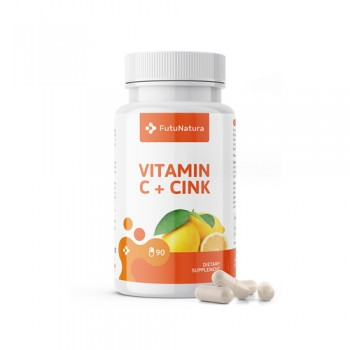 Vitamin C + Zink, 90 Kapseln